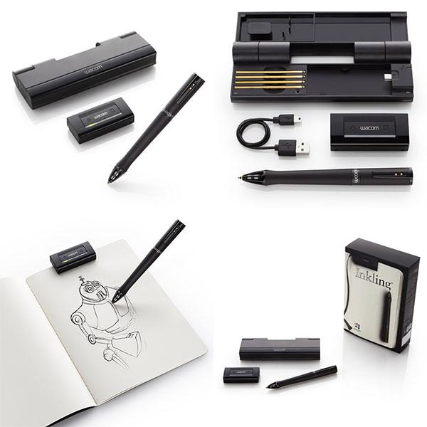 Wacom Inkling – Digital Pen – Bút Vẽ Kỹ Thuật Số