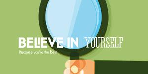 Cảm hứng thiết kế web: Believe in…