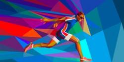 21 tác phẩm mosaic illustration về Olympic 2012 của Charis Tsevis