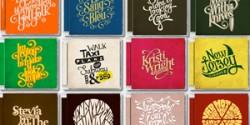 Cảm hứng Typography: Dự án I ❤ CD's