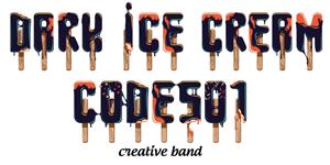 Cảm hứng Typography: Dự án Typeface – dark ice cream