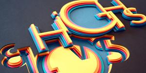 Cảm hứng Typography từ Hilka Riba