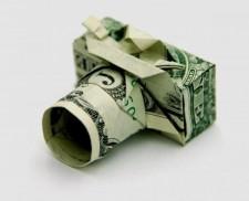 Nghệ thuật xếp giấy Origami bằng tiền giấy