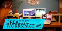Góc làm việc sáng tạo #5: Cảm hứng từ đèn