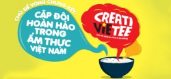 Lộ diện top 20 cuộc thi thiết kế áo phông Creativietee