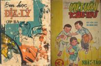 Cảm hứng Typography: Bìa sách giáo khoa Việt Nam trước 1975