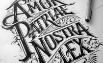 Typography vẽ tay cực đẹp của Mateusz Witczak