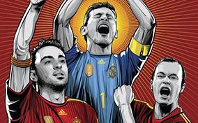 Hướng về World Cup 2014 với bộ poster cực ngầu của Cristiano Siqueira