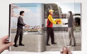 Những Print Ads siêu sáng tạo trên trang đôi tạp chí