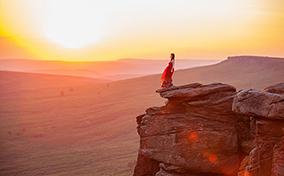 Những bức ảnh ấn tượng giữa con người và thiên nhiên