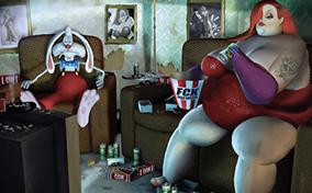 Short Animation – Cuộc sống đằng sau sự nổi tiếng của các nhân vật hoạt hình
