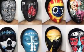 Album nhạc sống động qua phong cách Face Paint
