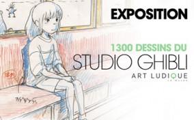 Triễn lãm hơn 1.300 mẫu phác thảo của Ghibli Studio tại Pháp