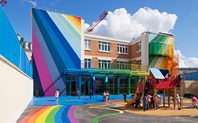 Vẻ đẹp cuốn hút của những kiến trúc đầy sắc màu trên thế giới