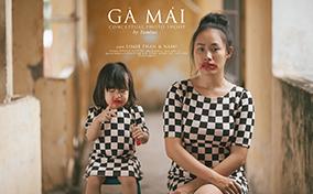 Gà Mái – Bộ ảnh đầy cảm xúc về bà mẹ đơn thân của Tâm Bùi