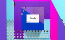 Amado thương hiệu bánh kẹo đầy màu sắc từ Anagrama