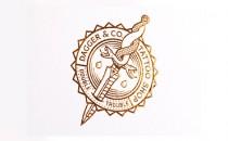 Dagger & Co | Bộ nhận diện tuyệt vời đậm chất Tattoo bởi Chad Micheal