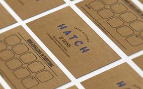 Khám phá bộ branding tuyệt vời và đậm chất retro của Hatch & Sons