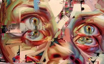 Justin Bower và các tác phẩm tái cấu trúc chân dung con người