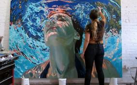 Mát mẻ tâm hồn qua những tác phẩm của Samantha French