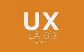 UX là gì? (Phần 2)