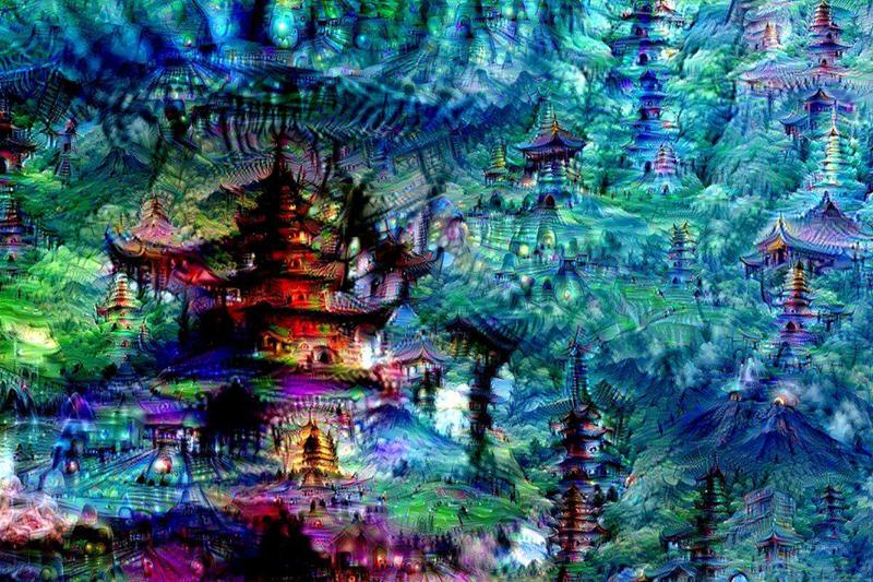 Những ngôi chùa trong trí tưởng tượng của ANN