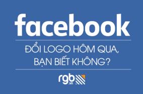 Bạn có biết Facebook đã thay đổi Logo ngày hôm qua không?
