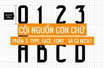 Typography phần 3: Type, Face, Font… và gì nữa?