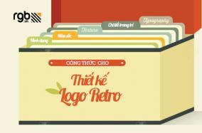 Công thức để thiết kế logo retro
