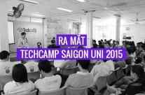 Ra mắt Techcamp Saigon Uni 2015