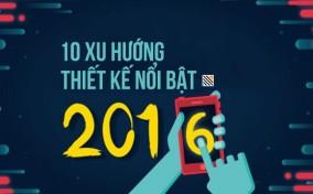 10 xu hướng thiết kế nổi bật dành cho năm 2015 và 2016 (phần 1)