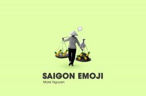 Saigon Emoji từ Maxk Nguyễn