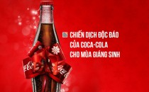 The Gift Bottle – Chiến dịch độc đáo của Coca-cola cho mùa Giáng sinh