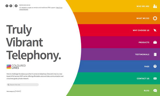 Bản quyền hình ảnh của Coloured Lines