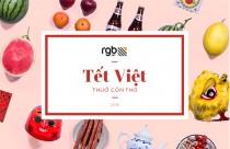 """RGB Lì xì bộ Stock """"Tết Việt Thuở Còn Thơ"""" dành cho Designer"""