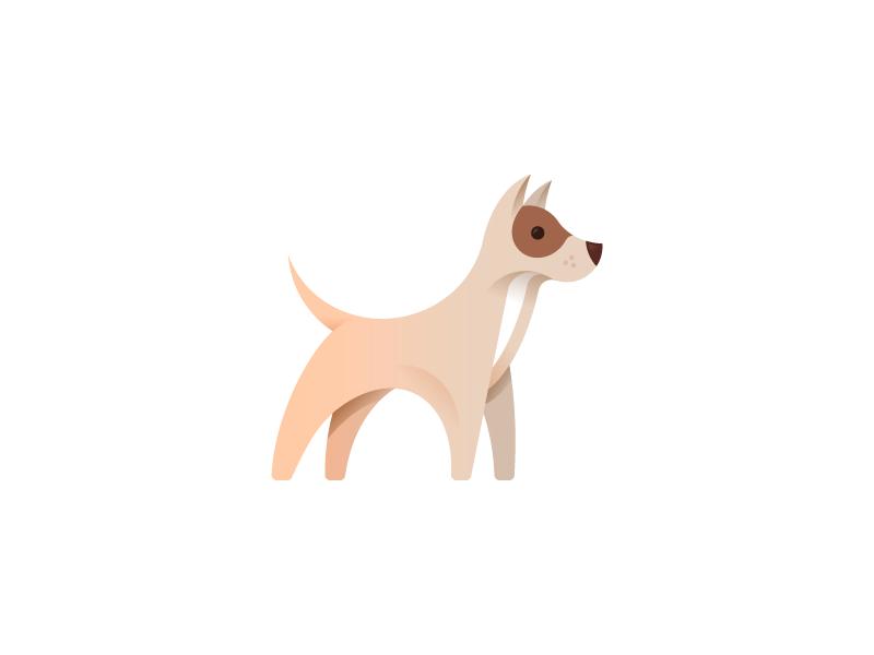 Dog illustration by Alexander Tsanev