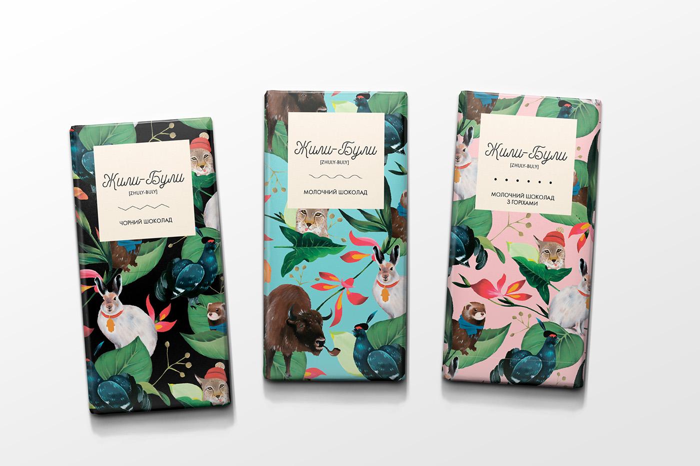 Zhuli-Buli Chocolate Packing by Inna Voevodina