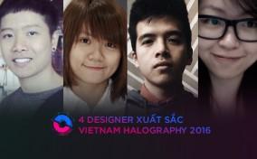 Gặp 4 Designer xuất sắc nhất Vietnam Halography – Behance Portfolio Reviews 2016