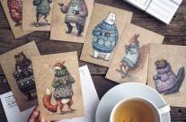 Fairytale – Bộ tranh minh họa chì màu của họa sĩ người Nga