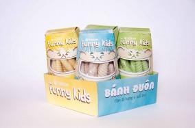 Bộ thiết kế bao bì Bánh Đuôn sắc màu từ Phuong Luong