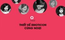 Cuộc thi Thiết kế Emoticon cùng Noizi