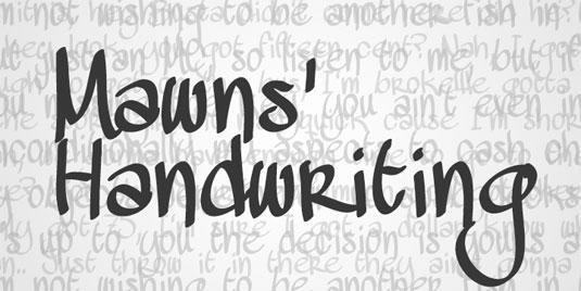 47 Font chữ viết tay tuyệt đẹp cho Designer - Tạp Chí Designer Việt Nam