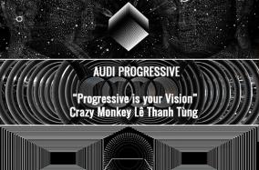 Crazy Monkey gây ấn tượng với tác phẩm sắp đặt tại Audi Progressive