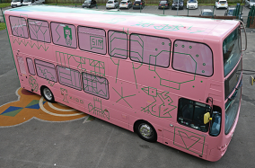 """""""Space Bus"""" được thiết kế cho trẻ em"""