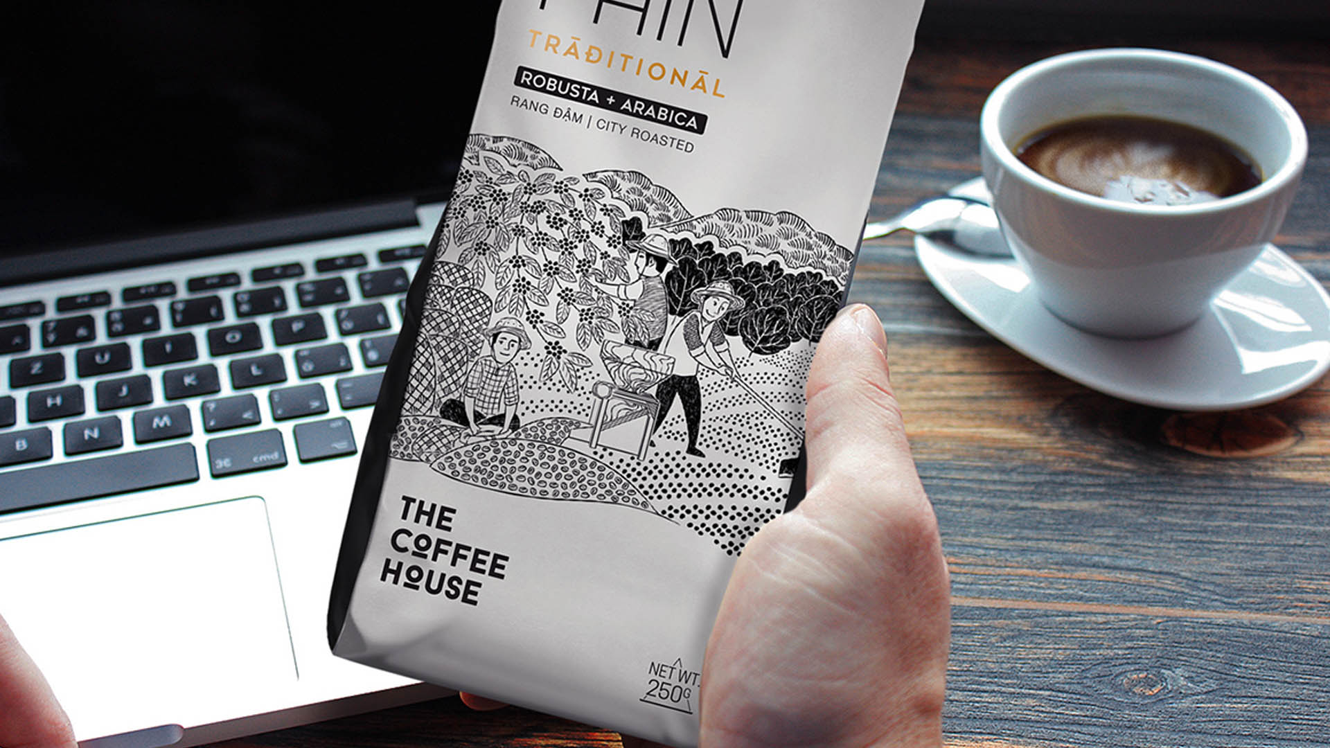 <h1>CẢM HỨNG PACKAGING</h1><p>Một dự án packaging về cà phê của The Coffee House thật độc đáo</p>