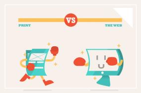 15 khác biệt quan trọng trong thiết kế In ấn và thiết kế Web