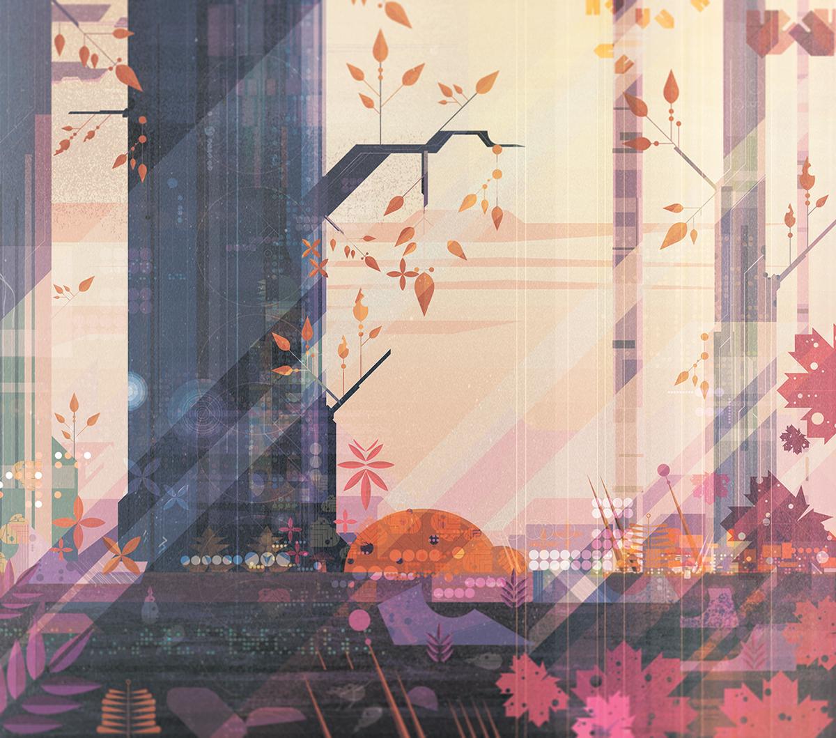Illustration December 2015 by James Gilleard
