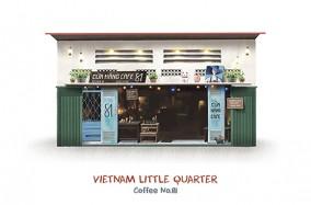 Vietnam Little Quarter – Khu phố nhỏ Việt Nam bởi Kín Illustration