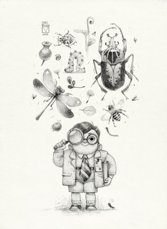 Sketchtober 009 by BladMoran