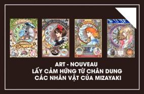 Art-Nouveau lấy cảm hứng từ chân dung các nhân vật của Mizayaki